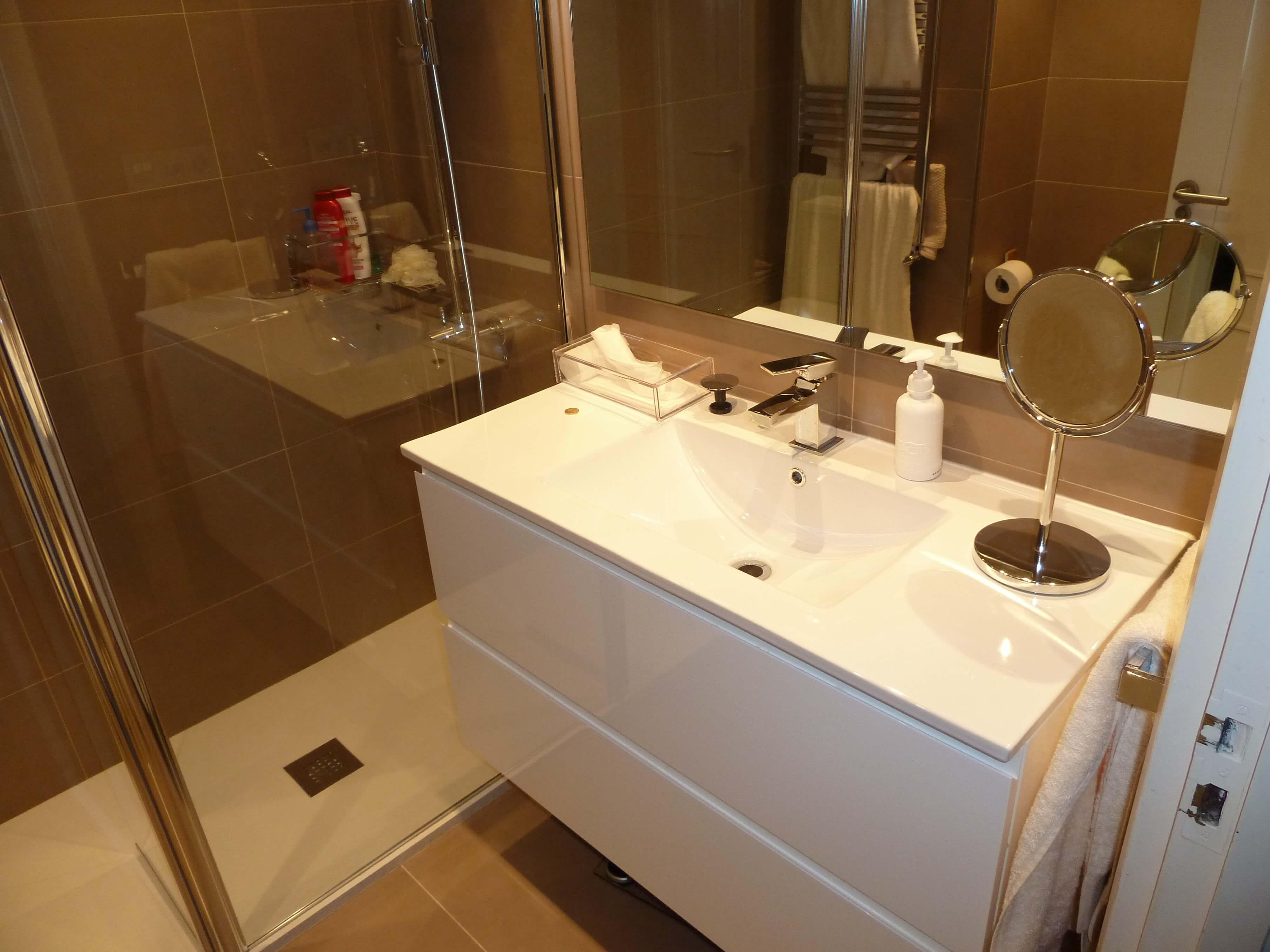 Reforma de baño en Pamplona